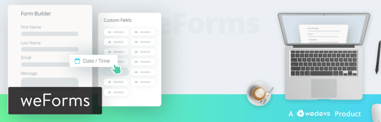 weForms plugin WordPress meilleur plugin de formulaires de contact pour WordPress