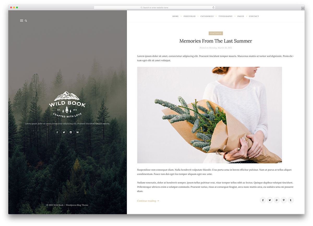 "wildbook-creative-wordpress-blog-template ""width ="" 1200 ""height ="" 866 ""data-lazy-srcset ="" https://cdn.colorlib.com/wp/wp-content/uploads/sites/2/wildbook -creative-wordpress-blog-template.jpg 1200w, https://cdn.colorlib.com/wp/wp-content/uploads/sites/2/wildbook-creative-wordpress-blog-template-300x217.jpg 300w, https : //cdn.colorlib.com/wp/wp-content/uploads/sites/2/wildbook-creative-wordpress-blog-template-768x554.jpg 768w, https://cdn.colorlib.com/wp/wp- contenu / uploads / sites / 2 / wildbook-creative-wordpress-blog-template-1024x739.jpg 1024w ""data-lazy-values ​​="" (largeur max: 1200px) 100vw, 1200px ""data-lazy-src ="" https: //cdn.colorlib.com/wp/wp-content/uploads/sites/2/wildbook-creative-wordpress-blog-template.jpg?is-pending-load=1 ""srcset ="" data: image / gif; base64 , R0lGODlhAQABAIAAAAAAAAP /// yH5BAEAAAAALAAAAAABAAEAAAIBRAA7 ""/></p> <p><noscript><img class="