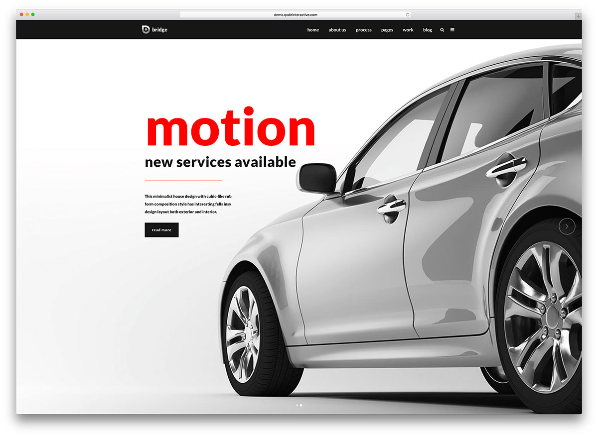 "bridge-automotive-wordpress-theme ""width ="" 1200 ""height ="" 878 ""data-lazy-srcset ="" https://cdn.colorlib.com/wp/wp-content/uploads/sites/2/bridge-automotive -wordpress-theme.jpg 1200w, https://cdn.colorlib.com/wp/wp-content/uploads/sites/2/bridge-automotive-wordpress-theme-300x220.jpg 300w, https: //cdn.colorlib .com / wp / wp-content / uploads / sites / 2 / bridge-automotive-wordpress-theme-768x562.jpg 768w, https://cdn.colorlib.com/wp/wp-content/uploads/sites/2/ bridge-automotive-wordpress-theme-1024x749.jpg 1024w ""data-lazy-tailles ="" (largeur max: 1200px) 100vw, 1200px ""data-lazy-src ="" https://cdn.colorlib.com/wp/ wp-content / uploads / sites / 2 / pont-automobile-wordpress-theme.jpg? est-en-attente-chargement = 1 ""srcset ="" données: image / gif; base64, R0lGODlhAQABAAAAAAAAAP /// yH5BAAAAAAALAAAAAAAAAAAAAAAAP7 ""/></p> <p><noscript><img class="