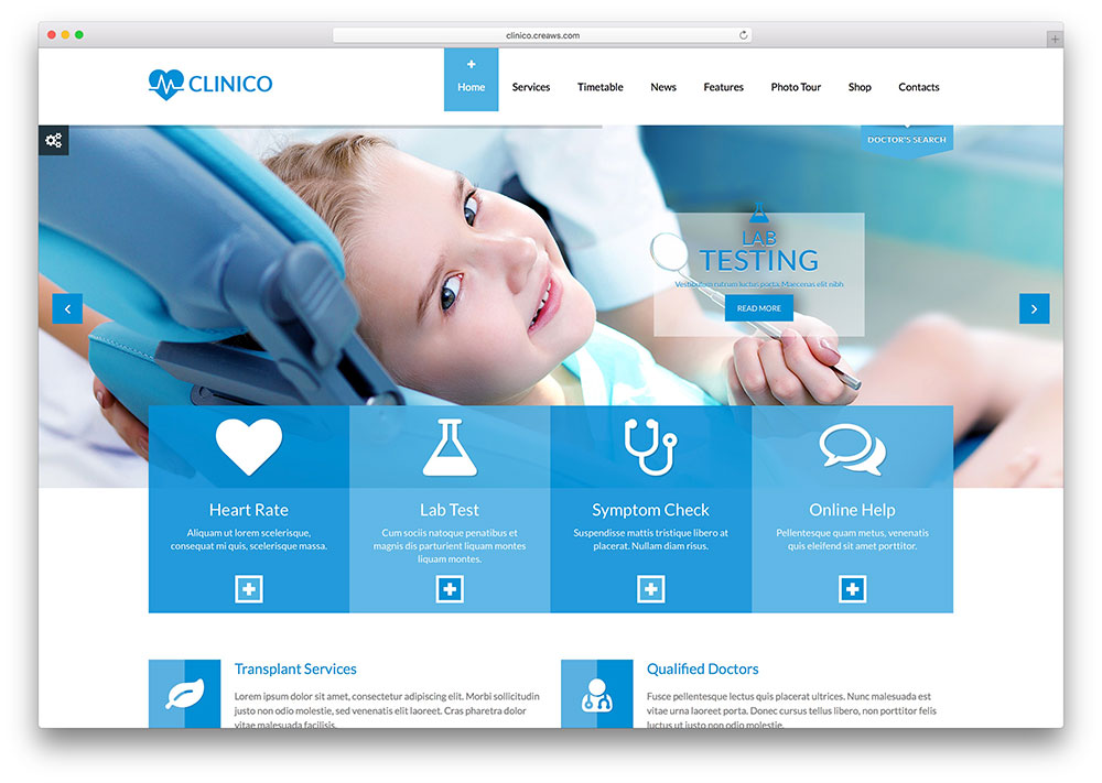 "clinico-modern-dentist-wordpress-theme ""width ="" 1000 ""height ="" 711 ""data-lazy-srcset ="" https://cdn.colorlib.com/wp/wp-content/uploads/sites/2/clinico -modern-dentist-wordpress-theme.jpg 1000w, https://cdn.colorlib.com/wp/wp-content/uploads/sites/2/clinico-modern-dentist-wordpress-theme-300x213.jpg 300w ""data -lazy-tailles = ""(largeur maximale: 1000px) 100vw, 1000px"" data-lazy-src = ""https://cdn.colorlib.com/wp/wp-content/uploads/sites/2/clinico-modern- dentist-wordpress-theme.jpg? is-waiting-load = 1 ""srcset ="" données: image / gif; base64, R0lGODlhAQABAAAAAAAAAP /// yH5BAEAAAAAAAAABAAAAAAIBRAA7 ""/></p> <p><noscript><img class="