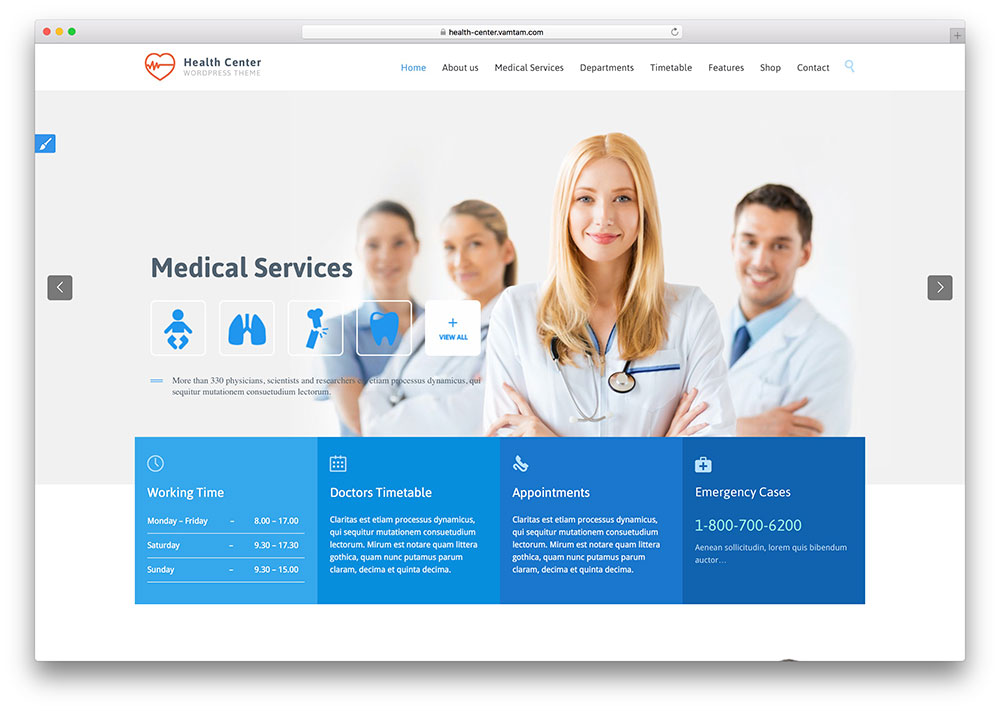"thème-santé-centre-polyvalent-médical ""width ="" 1000 ""height ="" 711 ""data-lazy-srcset ="" https://cdn.colorlib.com/wp/wp-content/uploads/sites/2/healt -center-multipurpose-medical-theme.jpg 1000w, https://cdn.colorlib.com/wp/wp-content/uploads/sites/2/healt-center-multipurpose-medical-theme-300x213.jpg 300w """" données -lazy-tailles = ""(largeur maximale: 1000px) 100vw, 1000px"" data-lazy-src = ""https://cdn.colorlib.com/wp/wp-content/uploads/sites/2/healt-center- multipurpose-medical-theme.jpg? is-waiting-load = 1 ""srcset ="" data: image / gif; base64, R0lGODlhAQABAAAAAAAAAP /// yH5BAEAAAAAAAAABAAAAAAIBRAA7 ""/></p> <p><noscript><img class="