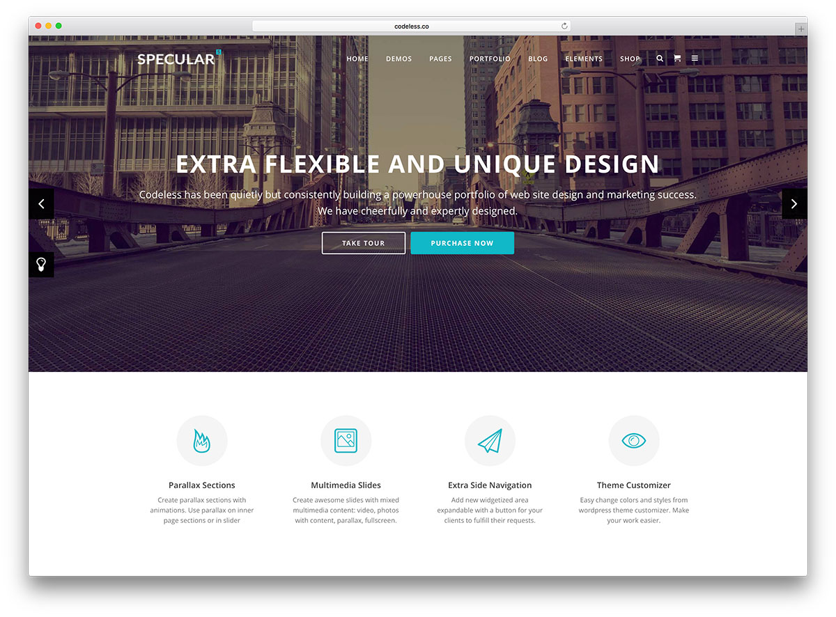 "specular-minimal-business-website-template"" width=""1200"" height=""886"" srcset=""https://colorlib.com/wp/wp-content/uploads/sites/2/specular-minimal-business-website-template.jpg 1200w, https://colorlib.com/wp/wp-content/uploads/sites/2/specular-minimal-business-website-template-300x222.jpg 300w, https://colorlib.com/wp/wp-content/uploads/sites/2/specular-minimal-business-website-template-768x567.jpg 768w, https://colorlib.com/wp/wp-content/uploads/sites/2/specular-minimal-business-website-template-1024x756.jpg 1024w"" data-lazy-sizes=""(max-width: 1200px) 100vw, 1200px""/></p> <p><noscript><img class="