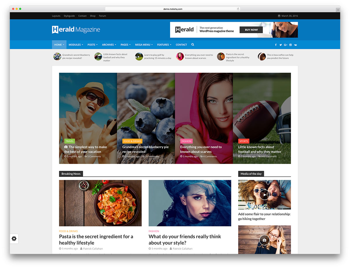 "herald-unique-magazine-wordpress-theme ""width ="" 1200 ""height ="" 921 ""data-lazy-srcset ="" https://cdn.colorlib.com/wp/wp-content/uploads/sites/2/herald -unique-magazine-wordpress-theme.jpg 1200w, https://cdn.colorlib.com/wp/wp-content/uploads/sites/2/herald-unique-magazine-wordpress-theme-300x230.jpg 300w, https : //cdn.colorlib.com/wp/wp-content/uploads/sites/2/herald-unique-magazine-wordpress-theme-768x589.jpg 768w, https://cdn.colorlib.com/wp/wp- content / uploads / sites / 2 / herald-unique-magazine-wordpress-theme-1024x786.jpg 1024w ""data-lazy-tailles ="" (largeur maximale: 1200px) 100vw, 1200px ""data-lazy-src ="" https: //cdn.colorlib.com/wp/wp-content/uploads/sites/2/herald-unique-magazine-wordpress-theme.jpg?is-pending-load=1 ""srcset ="" data: image / gif; base64 , R0lGODlhAQABAIAAAAAAAAP /// yH5BAEAAAAALAAAAAABAAEAAAIBRAA7 ""/></p> <p><noscript><img class="