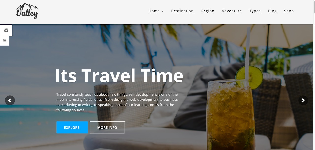 "valley-fullfeatured-tour-travel-agency-wordpress-theme-CL ""width ="" 1280 ""height ="" 609 ""data-lazy-srcset ="" https://cdn.colorlib.com/wp/wp-content/uploads /sites/2/valley-fullfeatured-tour-travel-agency-wordpress-theme-CL.jpg 1280w, https://cdn.colorlib.com/wp/wp-content/uploads/sites/2/valley-fullfeatured- agence de voyage-tour-wordpress-theme-CL-300x143.jpg 300w, https://cdn.colorlib.com/wp/wp-content/uploads/sites/2/valley-fullfeatured-tour-travel-agency-word- -theme-CL-768x365.jpg 768w, https://cdn.colorlib.com/wp/wp-content/uploads/sites/2/valley-fullfeatured-tour-travel-agency-wordpress-theme-CL-1024x487. jpg 1024w ""data-lazy-tailles ="" (largeur maximale: 1280px) 100vw, 1280px ""data-lazy-src ="" https://cdn.colorlib.com/wp/wp-content/uploads/sites/2/ valley-fullfeatured-tour-travel-agency-wordpress-theme-CL.jpg? est-en-attente-charge = 1 ""srcset ="" données: image / gif; base64, R0lGODlhAQAAAAAAAAAP /// yH5BAAAAAAALAAAAAAAAAAAAAAAAAAAP ""/></p> <p><noscript><img class="