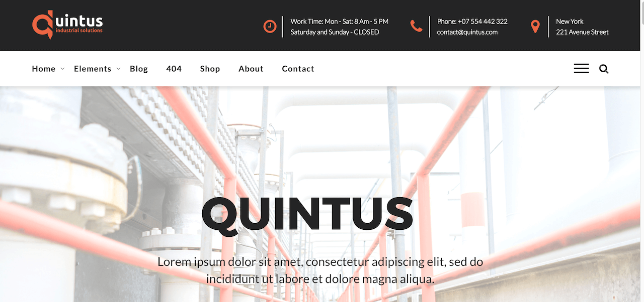 Quintus &quot;width =&quot; 1280 &quot;height =&quot; 602 &quot;data-lazy-srcset =&quot; https://cdn.colorlib.com/wp/wp-content/uploads/sites/2/Quintus-Industry-Factory-Engineering-WordPress -Theme-.png 1280w, https://cdn.colorlib.com/wp/wp-content/uploads/sites/2/Quintus-Industry-Factory-Engineering-WordPress-Theme--300x141.png 300w, https: / /cdn.colorlib.com/wp/wp-content/uploads/sites/2/Quintus-Industry-Factory-Engineering-WordPress-Theme--768x361.png 768w, https://cdn.colorlib.com/wp/wp -content / uploads / sites / 2 / Thème WordPress-Factory de Quintus-Industry-Factory - 1024x482.png 1024w &quot;data-lazy-values ​​=&quot; (largeur maximale: 1280px) 100vw, 1280px &quot;data-lazy-src = &quot;https://webypress.fr/wp-content/uploads/2018/12/1544455485_120_30-meilleurs-thèmes-WordPress-pour-l39industrie-et-l39industrie-2018.png?is-pending-load=1&quot; srcset = &quot; données: image / gif; base64, R0lGODlhAQABAIAAAAAAAP /// yH5BAEAAAAALAAAAAABAAAAAAIBRAA &quot;/&gt;</p> <p><noscript><img class=