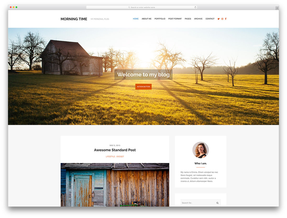 "morningtime-minimal-wordpress-blog-theme ""width ="" 1200 ""height ="" 913 ""data-lazy-srcset ="" https://cdn.colorlib.com/wp/wp-content/uploads/sites/2/morningtime -minimal-wordpress-blog-theme.jpg 1200w, https://cdn.colorlib.com/wp/wp-content/uploads/sites/2/morningtime-minimal-wordpress-blog-theme-300x228.jpg 300w, https : //cdn.colorlib.com/wp/wp-content/uploads/sites/2/morningtime-minimal-wordpress-blog-theme-768x584.jpg 768w, https://cdn.colorlib.com/wp/wp- content / uploads / sites / 2 / morningtime-minimal-wordpress-blog-theme-1024x779.jpg 1024w ""data-lazy-tailles ="" (largeur max: 1200px) 100vw, 1200px ""data-lazy-src ="" https: //cdn.colorlib.com/wp/wp-content/uploads/sites/2/morningtime-minimal-wordpress-blog-theme.jpg?is-pending-load=1 ""srcset ="" data: image / gif; base64 , R0lGODlhAQABAIAAAAAAAAP /// yH5BAEAAAAALAAAAAABAAEAAAIBRAA7 ""/></p> <p><noscript><img class="