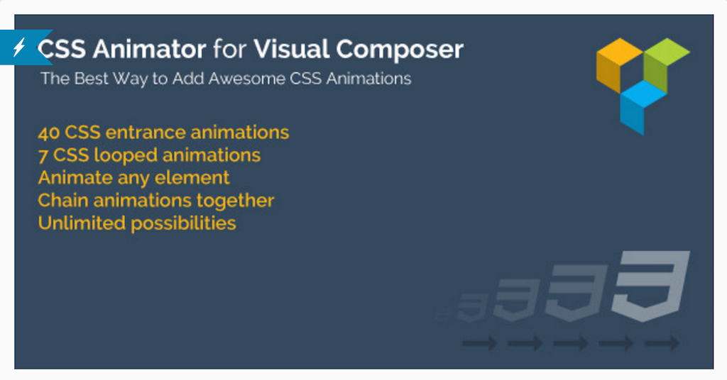 CSS Animator pour WPBakery Page Builder WordPress