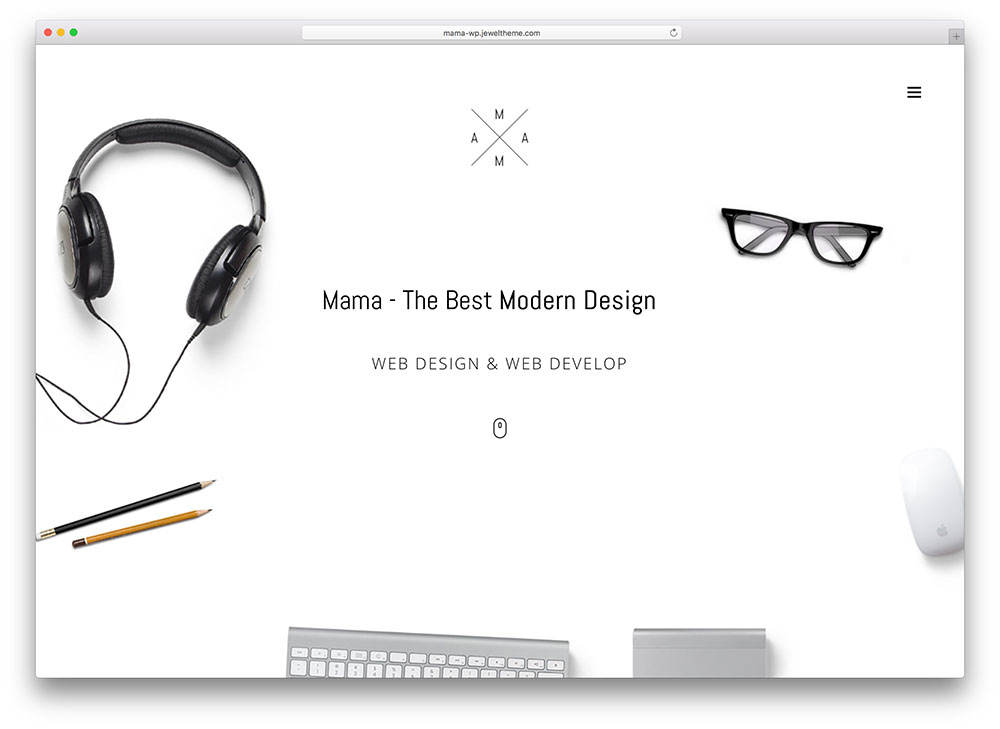 mama - awesome business theme