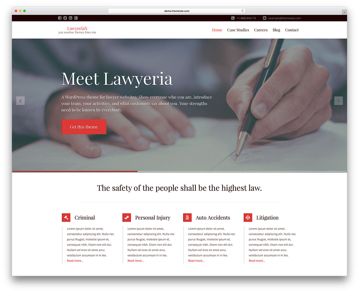 "avocate-premium-law-cabinet-site-Web-template ""width ="" 1200 ""height ="" 979 ""data-lazy-srcset ="" https://cdn.colorlib.com/wp/wp-content/uploads/sites/2 /lawyeria-premium-law-firm-website-template.jpg 1200w, https://cdn.colorlib.com/wp/wp-content/uploads/sites/2/lawyeria-premium-law-firm-website-template- 300x245.jpg 300w, https://cdn.colorlib.com/wp/wp-content/uploads/sites/2/lawyeria-premium-law-firm-website-template-768x627.jpg 768w, https: // cdn. colorlib.com/wp/wp-content/uploads/sites/2/lawyeria-premium-law-firm-website-template-1024x835.jpg 1024w ""data-lazy-tailles ="" (largeur maximum: 1200px) 100vw, 1200px ""data-lazy-src ="" http://webypress.fr/wp-content/uploads/2018/12/1545359017_793_30-meilleurs-thèmes-WordPress-pour-avocats-à-l39intention-des-cabinets-d39avocats-et-des-avocats-2018.jpg?is-pending-load= 1 ""srcset ="" données: image / gif; base64, R0lGODlhAQABAIAAAAAAAP /// yH5BAEAAAAALAAAAAABAAAAAAIBRAA7 ""/></p> <p><noscript><img class="