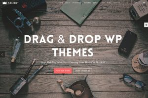 26 thèmes WordPress de drag and drop les plus populaires, 2018