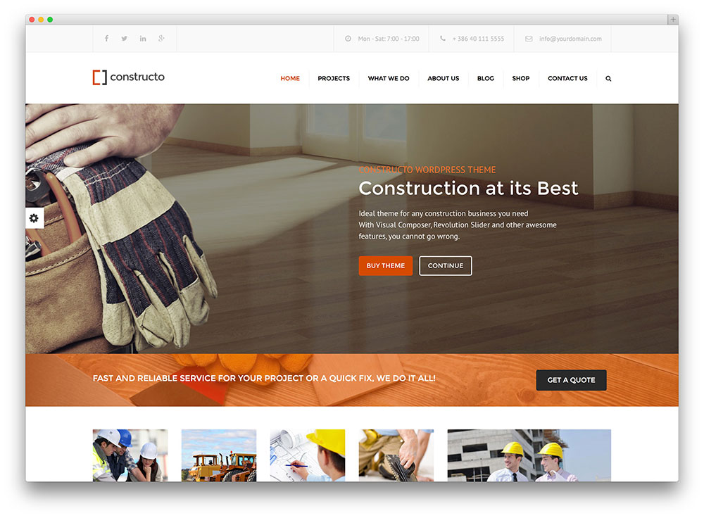 constructo - construction company themes