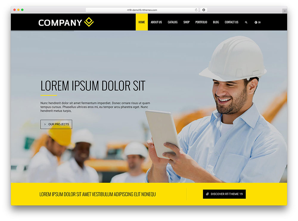 rttheme 19 - construction company theme