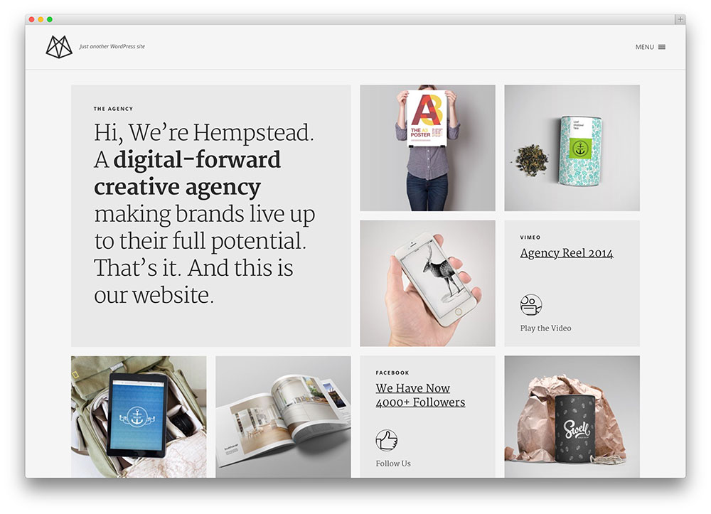 hempstead - theme for designers