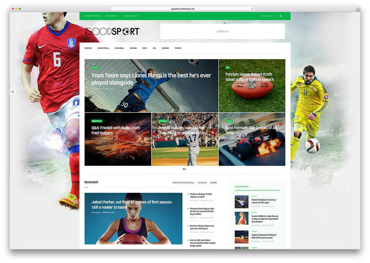 "goodlife-minimal-sports-magazine-theme ""width ="" 1200 ""height ="" 851 ""data-lazy-srcset ="" https://cdn.colorlib.com/wp/wp-content/uploads/sites/2/goodlife -minimal-sports-magazine-theme.jpg 1200w, https://cdn.colorlib.com/wp/wp-content/uploads/sites/2/goodlife-minimal-sports-magazine-theme-300x213.jpg 300w, https : //cdn.colorlib.com/wp/wp-content/uploads/sites/2/goodlife-minimal-sports-magazine-theme-768x545.jpg 768w, https://cdn.colorlib.com/wp/wp- content / uploads / sites / 2 / goodlife-minimal-sports-magazine-theme-1024x726.jpg 1024w ""data-lazy-tailles ="" (largeur maximale: 1200px) 100vw, 1200px ""data-lazy-src ="" https: //cdn.colorlib.com/wp/wp-content/uploads/sites/2/goodlife-minimal-sports-magazine-theme.jpg?is-pending-load=1 ""srcset ="" data: image / gif; base64 , R0lGODlhAQABAIAAAAAAAAP /// yH5BAEAAAAALAAAAAABAAEAAAIBRAA7 ""/></p> <p><noscript><img class="