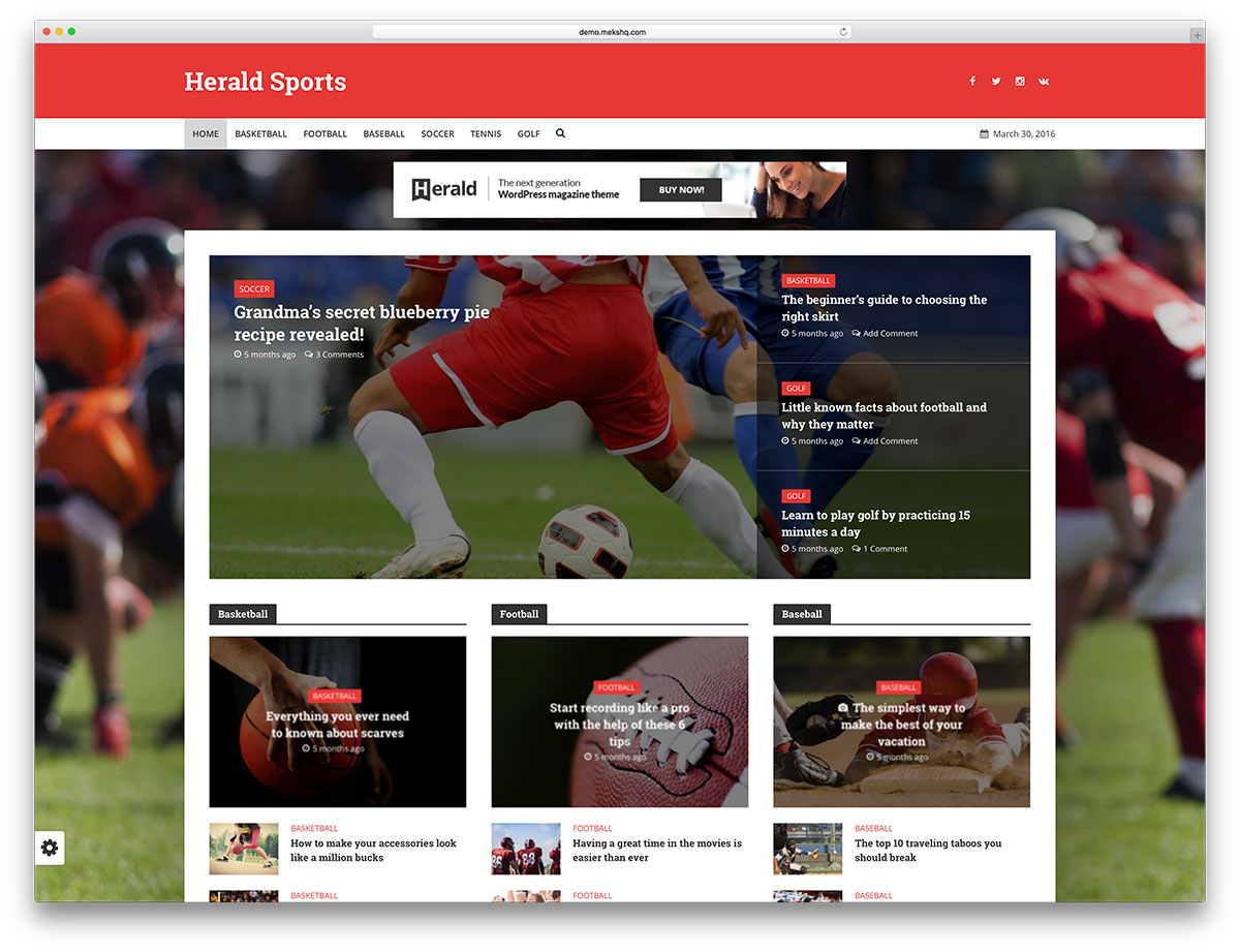 "herald-creative-sports-magazine-theme ""width ="" 1200 ""height ="" 921 ""data-lazy-srcset ="" https://cdn.colorlib.com/wp/wp-content/uploads/sites/2/herald -creative-sports-magazine-theme.jpg 1200w, https://cdn.colorlib.com/wp/wp-content/uploads/sites/2/herald-creative-sports-magazine-theme-300x230.jpg 300w, https : //cdn.colorlib.com/wp/wp-content/uploads/sites/2/herald-creative-sports-magazine-theme-768x589.jpg 768w, https://cdn.colorlib.com/wp/wp- contenu / uploads / sites / 2 / herald-creative-sports-magazine-theme-1024x786.jpg 1024w ""data-lazy-tailles ="" (largeur max: 1200px) 100vw, 1200px ""data-lazy-src ="" https: //cdn.colorlib.com/wp/wp-content/uploads/sites/2/herald-creative-sports-magazine-theme.jpg?is-pending-load=1 ""srcset ="" data: image / gif; base64 , R0lGODlhAQABAIAAAAAAAAP /// yH5BAEAAAAALAAAAAABAAEAAAIBRAA7 ""/></p> <p><noscript><img class="