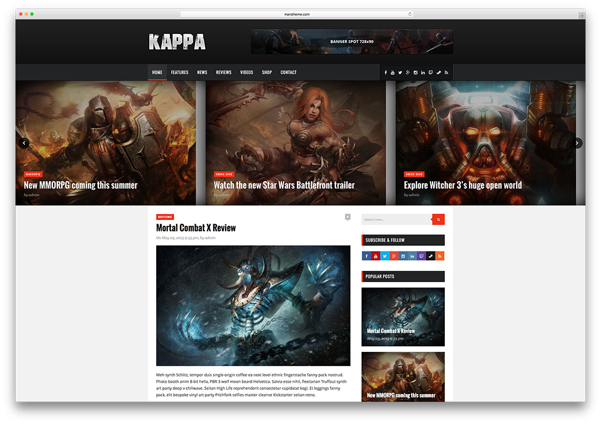 kappa-simple-gaming-blog-theme &quot;width =&quot; 1200 &quot;height =&quot; 847 &quot;data-lazy-srcset =&quot; https://cdn.colorlib.com/wp/wp-content/uploads/sites/2/kappa -simple-gaming-blog-theme.jpg 1200w, https://cdn.colorlib.com/wp/wp-content/uploads/sites/2/kappa-simple-gaming-blog-theme-300x212.jpg 300w, https : //cdn.colorlib.com/wp/wp-content/uploads/sites/2/kappa-simple-gaming-blog-theme-768x542.jpg 768w, https://cdn.colorlib.com/wp/wp- contenu / uploads / sites / 2 / kappa-simple-gaming-blog-theme-1024x723.jpg 1024w &quot;data-lazy-tailles =&quot; (largeur maximale: 1200px) 100vw, 1200px &quot;data-lazy-src =&quot; https: //cdn.colorlib.com/wp/wp-content/uploads/sites/2/kappa-simple-gaming-blog-theme.jpg?is-pending-load=1 &quot;srcset =&quot; data: image / gif; base64 , R0lGODlhAQABAIAAAAAAAAP /// yH5BAEAAAAALAAAAAABAAEAAAIBRAA7 &quot;/&gt;</p> <p><noscript><img class=