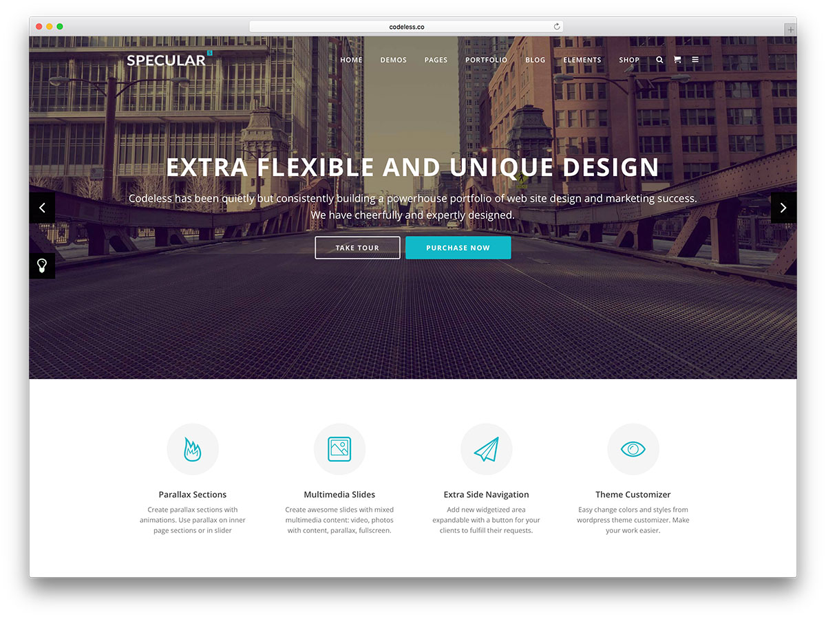 "specular-clean-business-wordpress-template ""width ="" 1200 ""height ="" 900 ""data-lazy-srcset ="" https://cdn.colorlib.com/wp/wp-content/uploads/sites/2/specular -clean-business-wordpress-template.jpg 1200w, https://cdn.colorlib.com/wp/wp-content/uploads/sites/2/specular-clean-business-wordpress-template-300x225.jpg 300w, https : //cdn.colorlib.com/wp/wp-content/uploads/sites/2/specular-clean-business-wordpress-template-768x576.jpg 768w, https://cdn.colorlib.com/wp/wp- content / uploads / sites / 2 / specular-clean-business-wordpress-template-1024x768.jpg 1024w ""data-lazy-values ​​="" (largeur max: 1200px) 100vw, 1200px ""data-lazy-src ="" https: //cdn.colorlib.com/wp/wp-content/uploads/sites/2/specular-clean-business-wordpress-template.jpg?is-pending-load=1 ""srcset ="" data: image / gif; base64 , R0lGODlhAQABAIAAAAAAAAP /// yH5BAEAAAAALAAAAAABAAEAAAIBRAA7 ""/></p> <p><noscript><img class="
