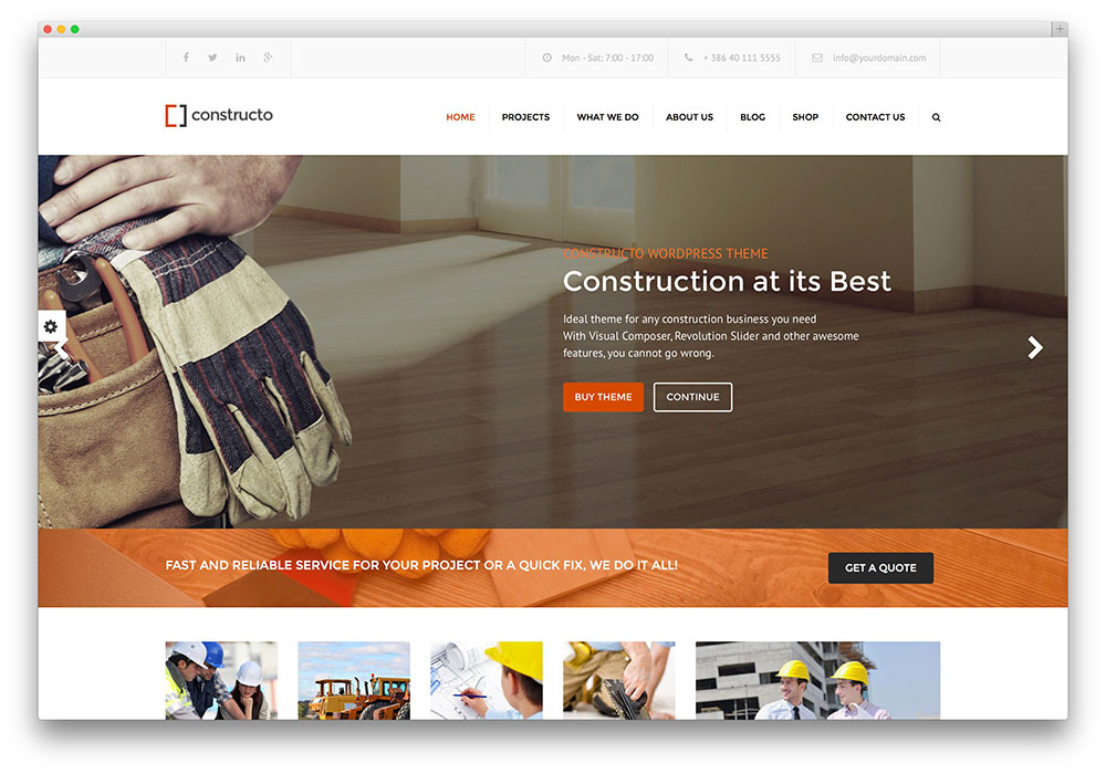 constructo - construction company theme
