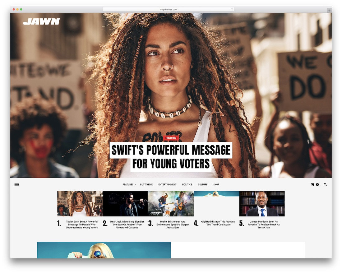 jawn news wordpress theme