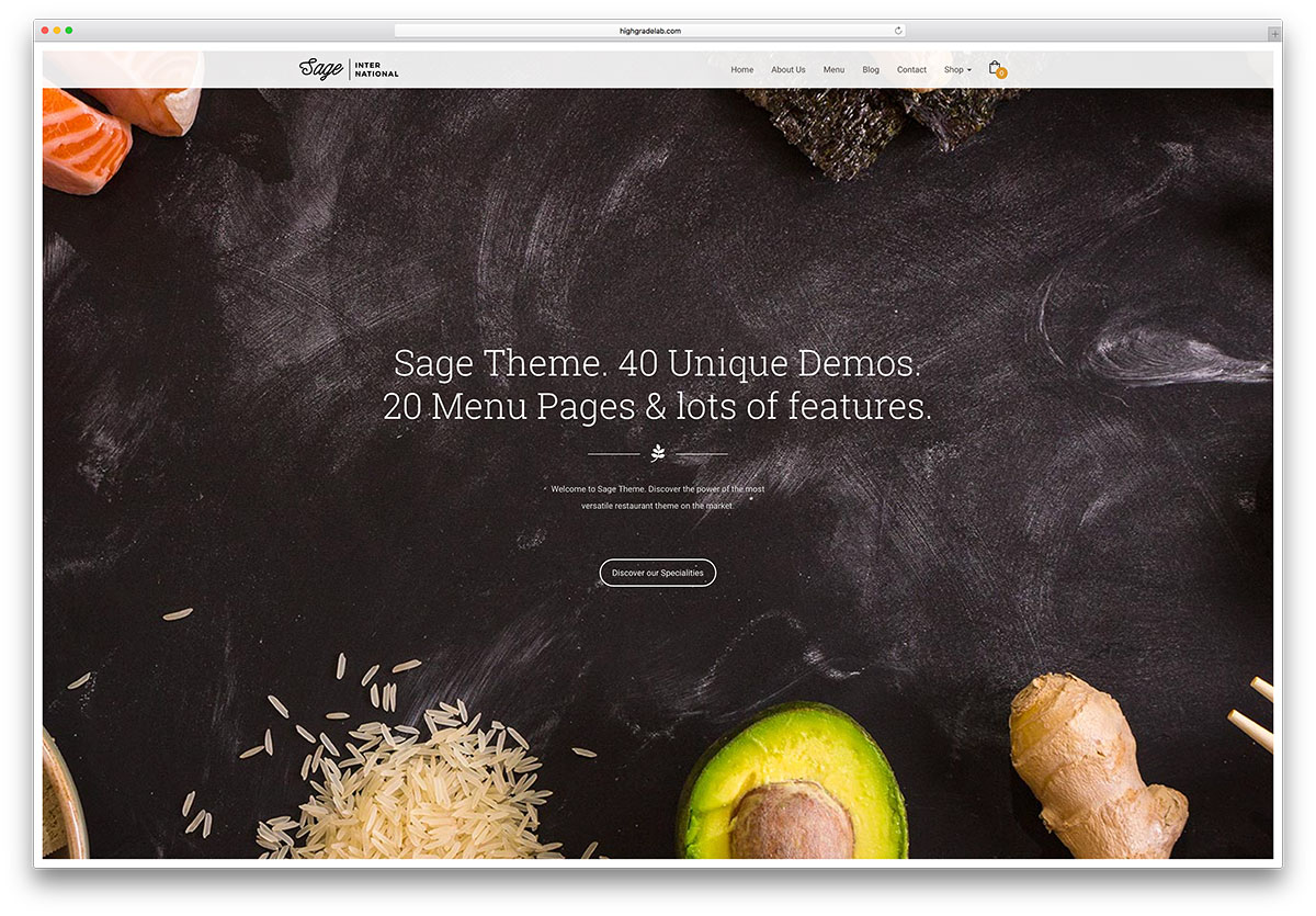 "sage-creative-fullscreen-restaurant-theme ""width ="" 1200 ""height ="" 835 ""data-lazy-srcset ="" https://cdn.colorlib.com/wp/wp-content/uploads/sites/2/sage -creative-fullscreen-restaurant-theme.jpg 1200w, https://cdn.colorlib.com/wp/wp-content/uploads/sites/2/sage-creative-fullscreen-restaurant-theme-300x209.jpg 300w, https : //cdn.colorlib.com/wp/wp-content/uploads/sites/2/sage-creative-fullscreen-restaurant-theme-768x534.jpg 768w, https://cdn.colorlib.com/wp/wp- content / uploads / sites / 2 / sage-creative-fullscreen-restaurant-theme-1024x713.jpg 1024w ""data-lazy-tailles ="" (largeur maximale: 1200px) 100vw, 1200px ""data-lazy-src ="" https: //cdn.colorlib.com/wp/wp-content/uploads/sites/2/sage-creative-fullscreen-restaurant-theme.jpg?is-pending-load=1 ""srcset ="" data: image / gif; base64 , R0lGODlhAQABAIAAAAAAAAP /// yH5BAEAAAAALAAAAAABAAEAAAIBRAA7 ""/></p> <p><noscript><img class="
