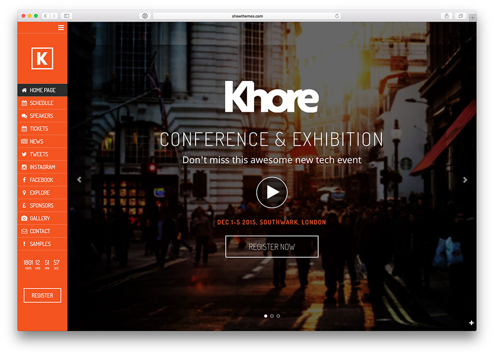 khore creative conference & event theme