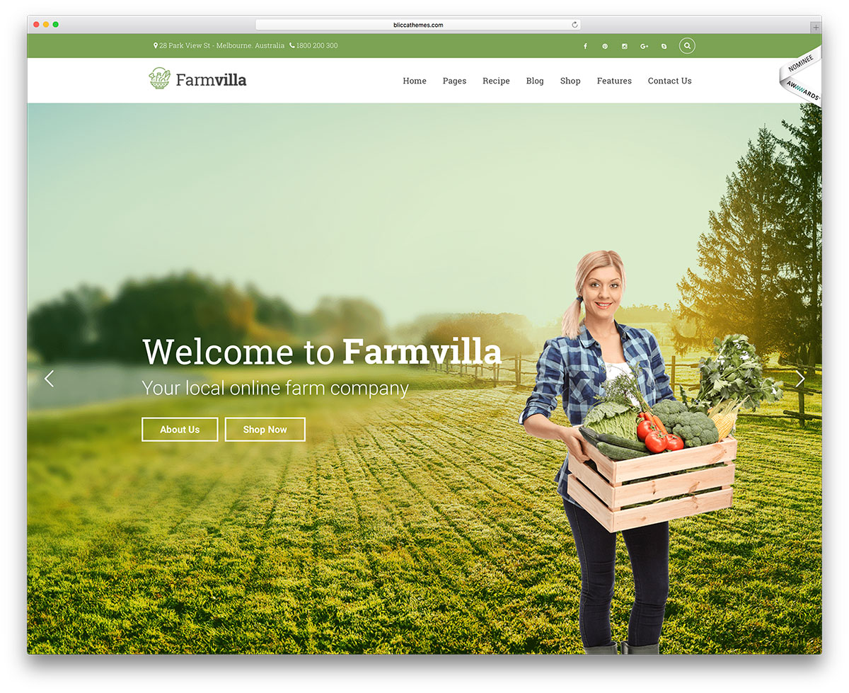 farmvilla-organic-food-ecommerce-theme &quot;width =&quot; 1200 &quot;height =&quot; 979 &quot;data-lazy-srcset =&quot; https://cdn.colorlib.com/wp/wp-content/uploads/sites/2/farmvilla -organic-food-ecommerce-theme.jpg 1200w, https://cdn.colorlib.com/wp/wp-content/uploads/sites/2/farmvilla-organic-food-ecommerce-theme-300x245.jpg 300w, https : //cdn.colorlib.com/wp/wp-content/uploads/sites/2/farmvilla-organic-food-ecommerce-theme-768x627.jpg 768w, https://cdn.colorlib.com/wp/wp- content / uploads / sites / 2 / farmvilla-bio-food-ecommerce-theme-1024x835.jpg 1024w &quot;data-lazy-tailles =&quot; (largeur maximale: 1200px) 100vw, 1200px &quot;data-lazy-src =&quot; https: //cdn.colorlib.com/wp/wp-content/uploads/sites/2/farmvilla-organic-food-ecommerce-theme.jpg?is-pending-load=1 &quot;srcset =&quot; data: image / gif; base64 , R0lGODlhAQABAIAAAAAAAAP /// yH5BAEAAAAALAAAAAABAAEAAAIBRAA7 &quot;/&gt;</p> <p><noscript><img class=
