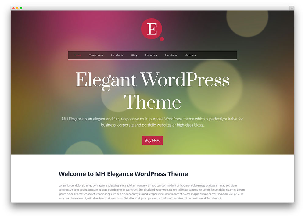 Elegance multipurpose theme