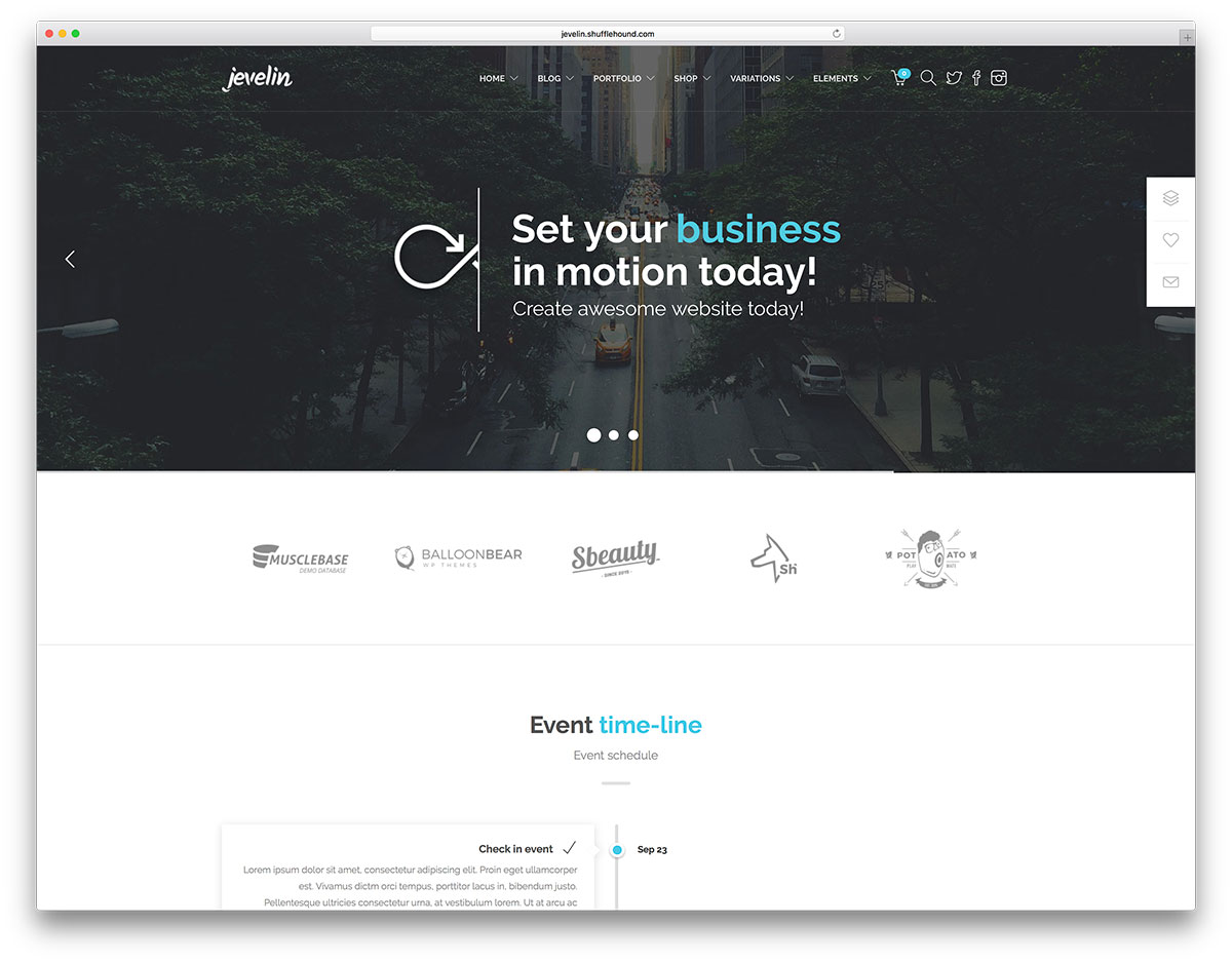 "jevelin-creative-one-page-event-theme ""width ="" 1200 ""height ="" 938 ""data-lazy-srcset ="" https://cdn.colorlib.com/wp/wp-content/uploads/sites/2 /jevelin-creative-one-page-event-theme.jpg 1200w, https://cdn.colorlib.com/wp/wp-content/uploads/sites/2/jevelin-creative-one-page-event-theme- 300x235.jpg 300w, https://cdn.colorlib.com/wp/wp-content/uploads/sites/2/jevelin-creative-one-page-event-theme-768x600.jpg 768w, https: // cdn. colorlib.com/wp/wp-content/uploads/sites/2/jevelin-creative-one-page-event-theme-1024x800.jpg 1024w ""data-lazy-tailles ="" (largeur maximale: 1200px) 100vw, 1200px ""data-lazy-src ="" http://webypress.fr/wp-content/uploads/2019/01/Plus-de-30-thèmes-WordPress-géniaux-pour-les-conférences-et-événements-2019.jpg?is-pending-load= 1 ""srcset ="" données: image / gif; base64, R0lGODlhAQABAIAAAAAAAP /// yH5BAEAAAAALAAAAAABAAAAAAIBRAA7 ""/></p> <p><noscript><img class="