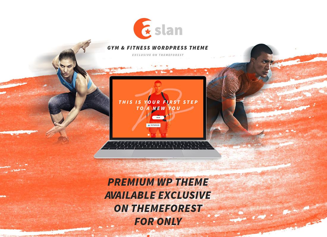 Aslan - Thème WordPress adaptatif pour salles de sport et fitness modernes