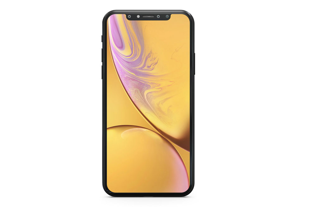 maquette iphone xs