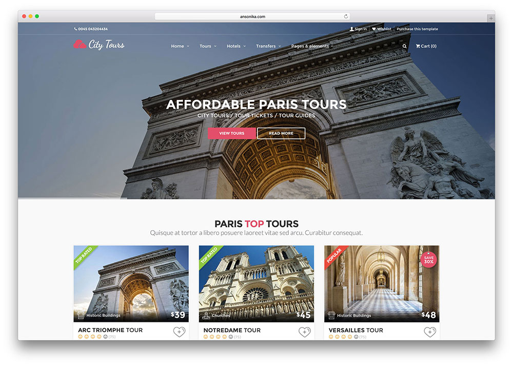 "citytours-travel-booking-html-website-template ""width ="" 1000 ""height ="" 714 ""srcset ="" https://cdn.colorlib.com/wp/wp-content/uploads/sites/2/citytours-travel -booking-html-website-template.jpg 1000w, https://cdn.colorlib.com/wp/wp-content/uploads/sites/2/citytours-travel-booking-html-website-template-300x214.jpg 300w , https://cdn.colorlib.com/wp/wp-content/uploads/sites/2/citytours-travel-booking-html-website-template-768x548.jpg 768w ""data-lazy-values ​​="" (max- width: 1000px) 100vw, 1000px ""src ="" https://webypress.fr/wp-content/uploads/2019/02/1550710451_821_21-meilleurs-modeles-de-sites-Web-de-reservation-d39hotels-HTML5.jpg?is-pending -load = 1 ""srcset ="" data: image / gif; base64, R0lGODlhAQABAIAAAAAAAP /// yH5BAEAAAAALAAAAAABAAAAAAIBRAA7 ""/></p> <p><noscript><img class="