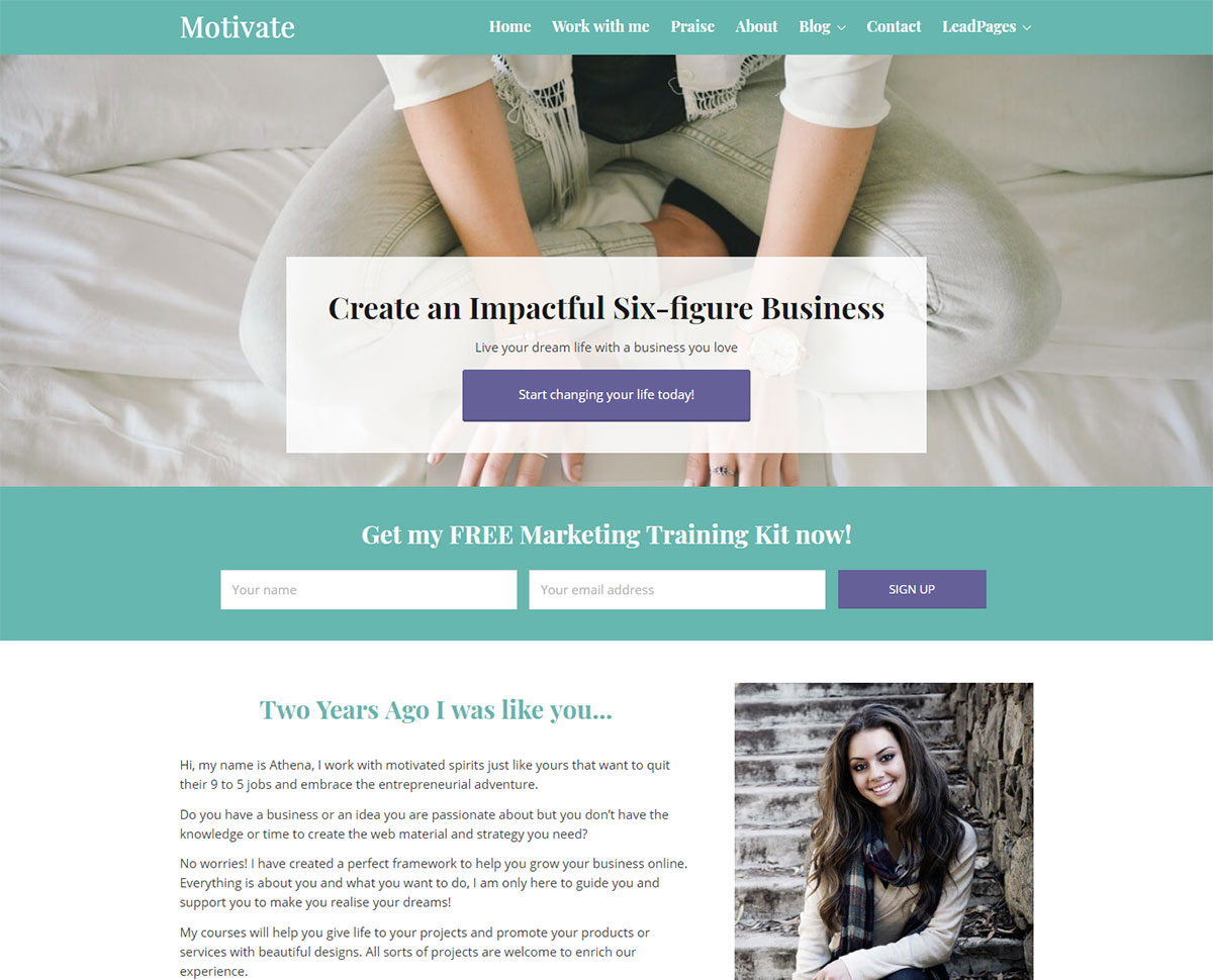haut-parleur wordpress themes