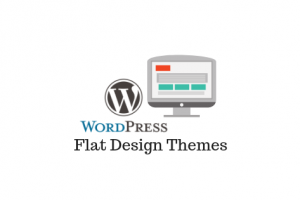 Super thèmes de WordPress Design plat en 2019
