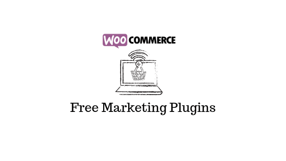 Bannière du blog des plugins marketing WooCommerce gratuits