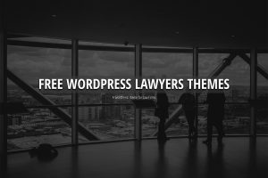15 thèmes WordPress gratuits pour les sites Law and Attorney
