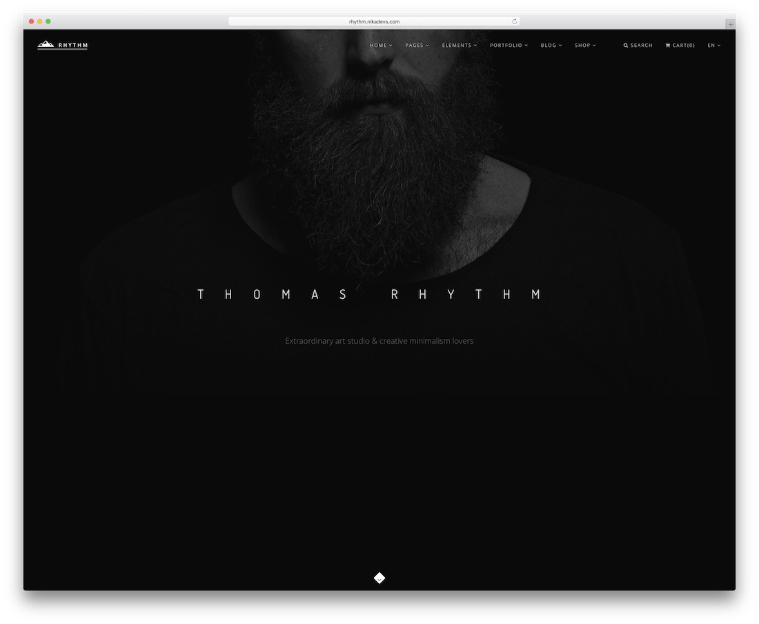 rhythm drupal business template