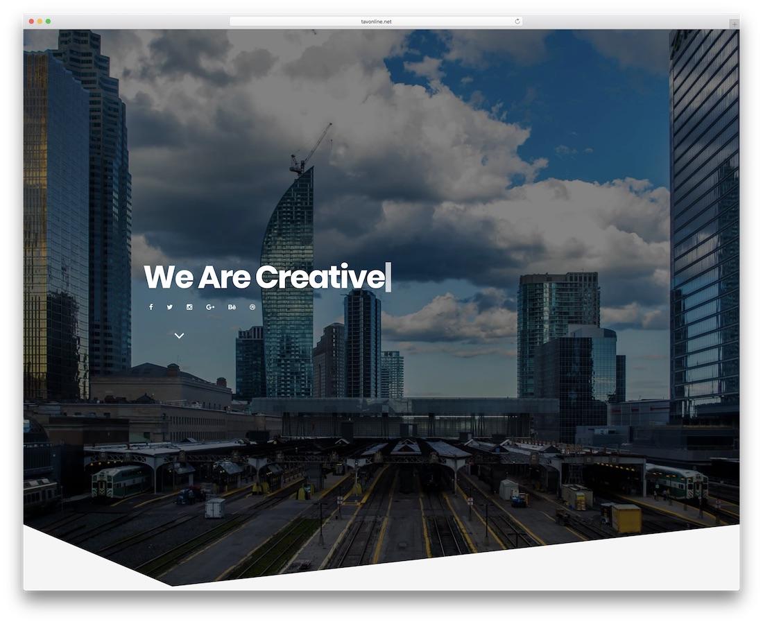 modèle de site créatif berlin