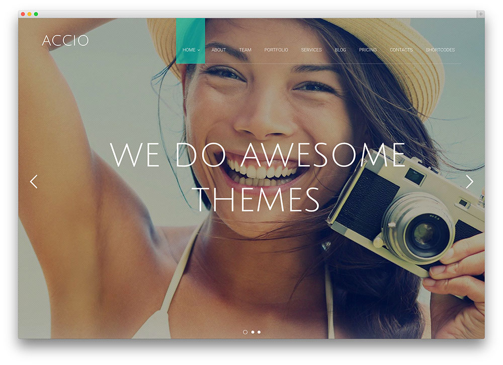 accio full screen multipurpose theme