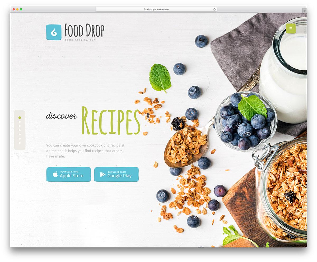 14 thèmes WordPress du service de livraison de nourriture 2019