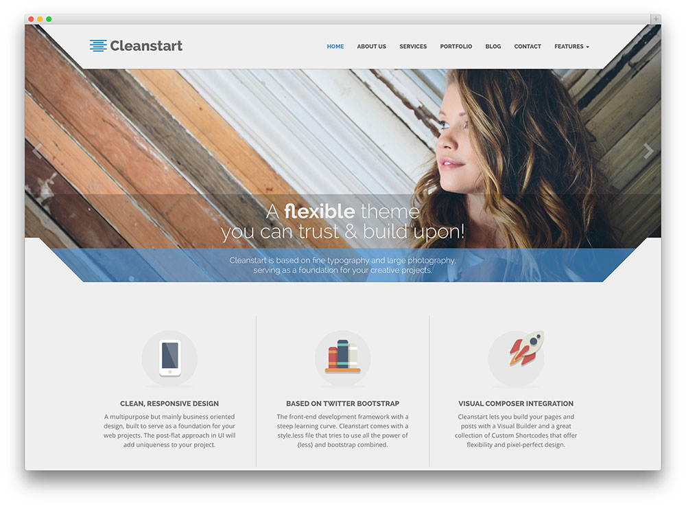 cleanstart rejuvenating consulting company theme