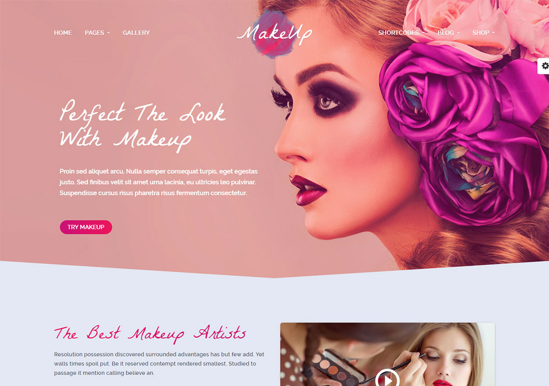 maquilleuse maquilleuse wordpress theme