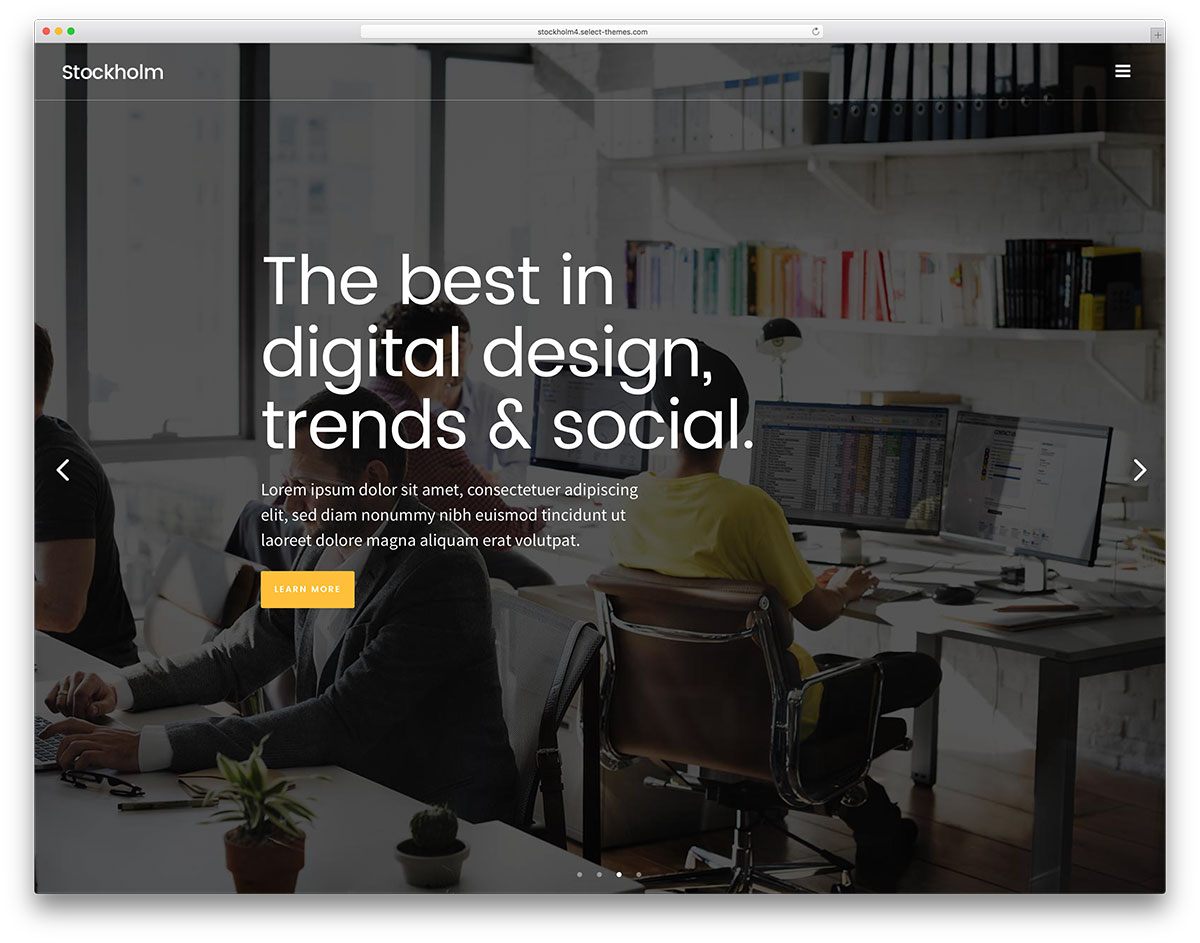 "stockholm-fullscreen-wordpress-business-website-template"" width=""1200"" height=""943"" srcset=""https://colorlib.com/wp/wp-content/uploads/sites/2/stockholm-fullscreen-wordpress-business-website-template.jpg 1200w, https://colorlib.com/wp/wp-content/uploads/sites/2/stockholm-fullscreen-wordpress-business-website-template-300x236.jpg 300w, https://colorlib.com/wp/wp-content/uploads/sites/2/stockholm-fullscreen-wordpress-business-website-template-768x604.jpg 768w, https://colorlib.com/wp/wp-content/uploads/sites/2/stockholm-fullscreen-wordpress-business-website-template-1024x805.jpg 1024w"" data-lazy-sizes=""(max-width: 1200px) 100vw, 1200px""/></p> <p><noscript><img class="