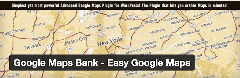 Google Maps Bank