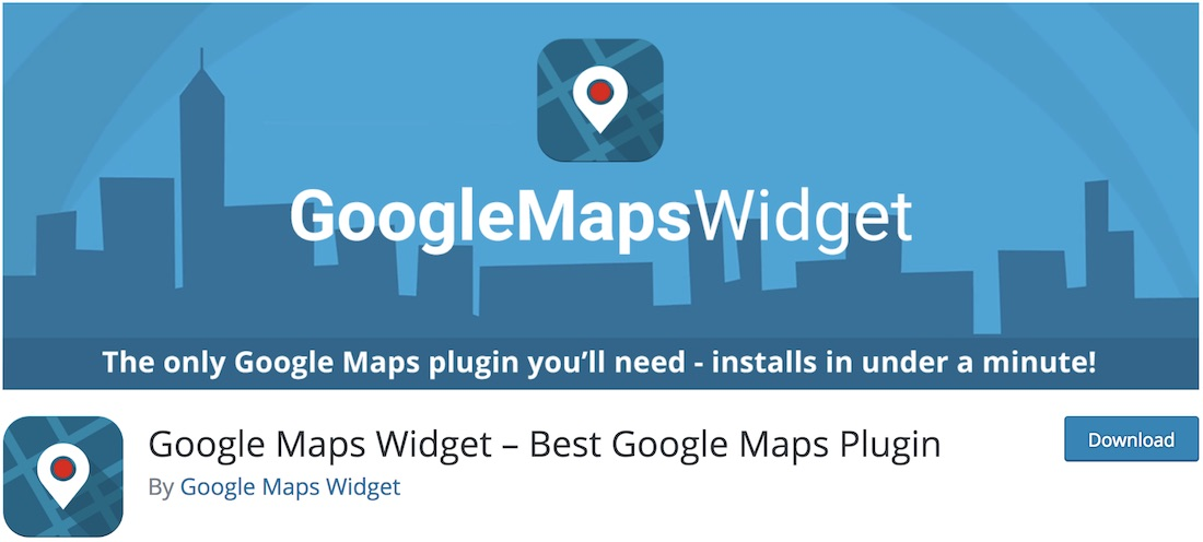 google maps widget plugin wordpress