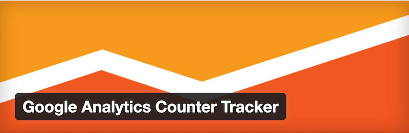 Google Analytics Counter Tracker