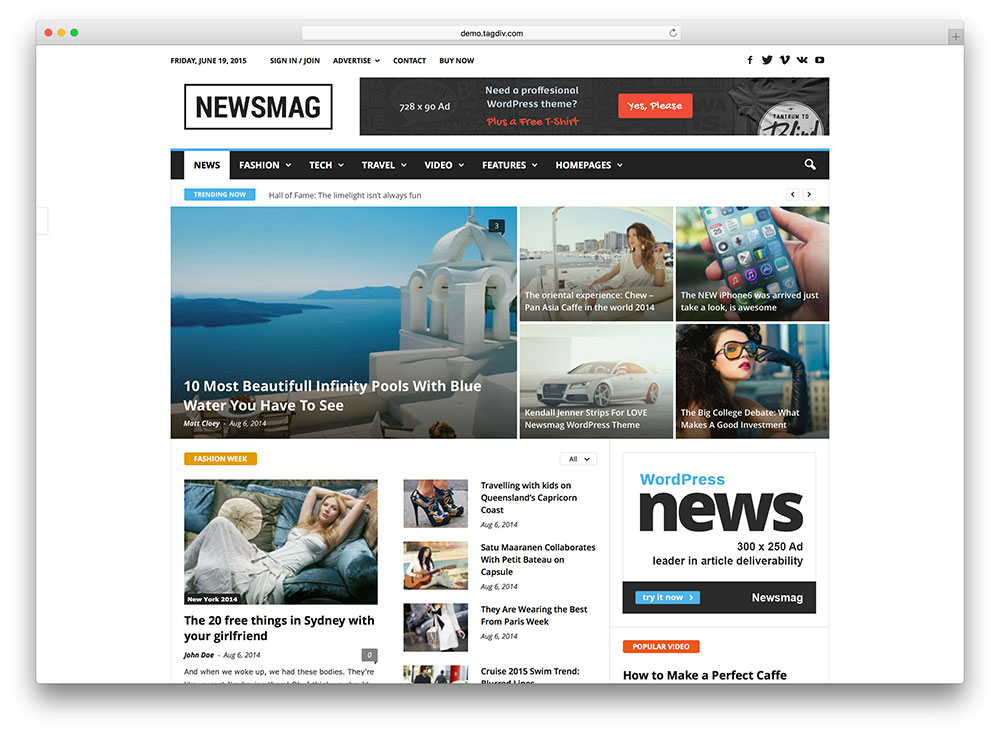 "newsmag-multipurpose-news-theme ""width ="" 1000 ""height ="" 735 ""srcset ="" https://colorlib.com/wp/wp-content/uploads/sites/2/newsmag-multipurpose-news-theme.jpg 1000w, https://colorlib.com/wp/wp-content/uploads/sites/2/newsmag-multipurpose-news-theme-300x221.jpg 300w ""data-lazy-values ​​="" (largeur maximale: 1000px) 100vw , 1000px ""/></p> <p><noscript><img class="