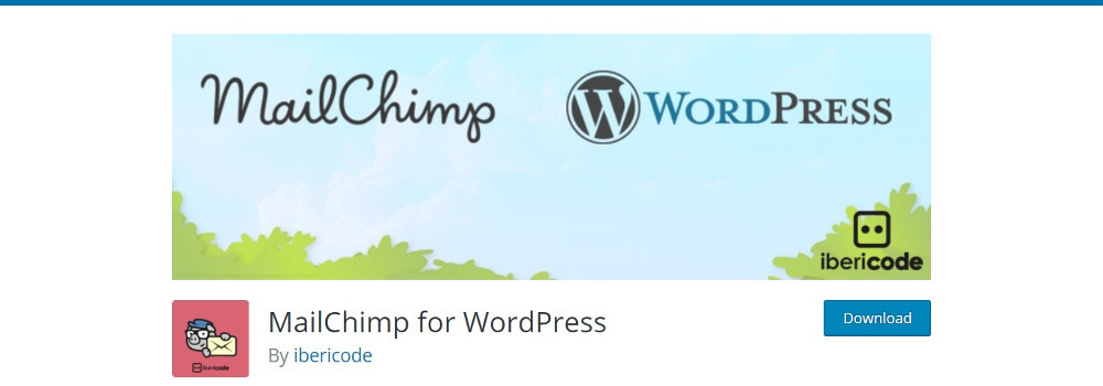Plugins WordPress pour MailChimp: MailChimp pour WordPress