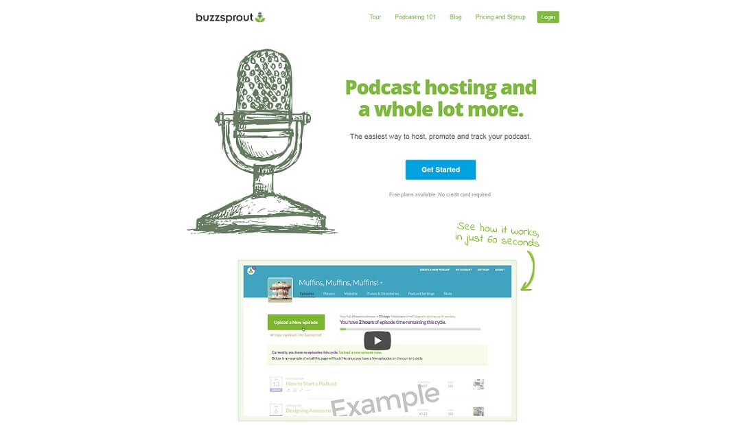 podcasting buzzsprout