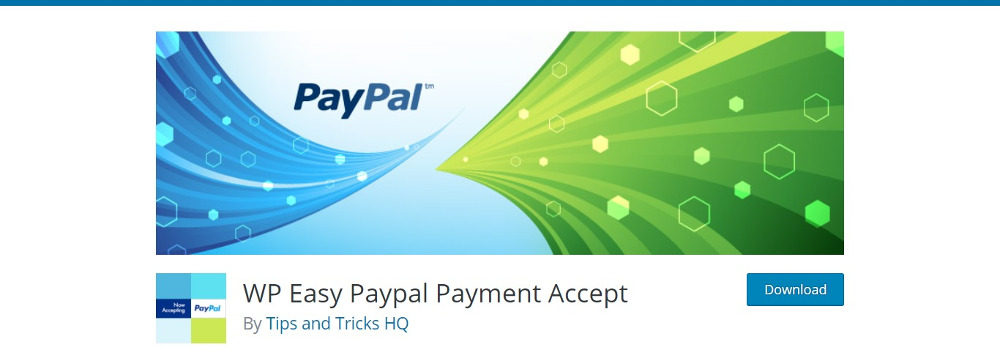 Paiement WP Easy PayPal Accepter