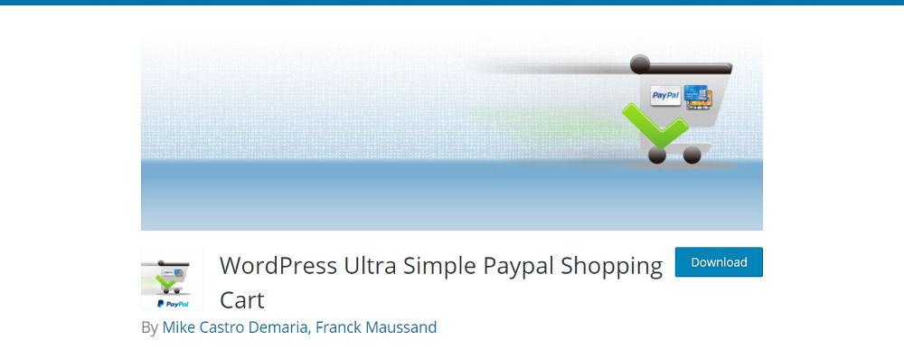 WordPress Ultra Simple PayPal Panier
